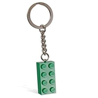 LEGO Green Brick Key Chain by Creator: Toys & Games
