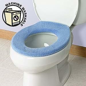 Amazon Com Soft N Comfy Toilet Seat Cover Sky Blue