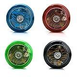 yo yo starter kit - 1pcs Light-Emitting Yoyo – advanced trick yoyo by Delight eShop, Colors May Vary