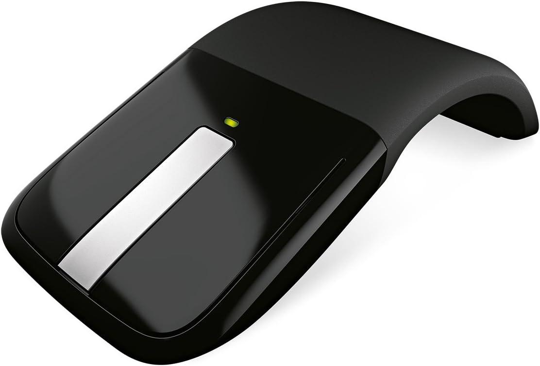 Microsoft ARC Touch - Ratón óptico inalámbrico, Color Negro.