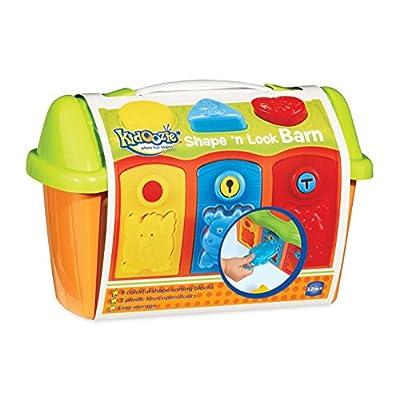 Kidoozie Shape 'n Lock Barn: Toys & Games