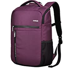"XSY Multifunctional Business Backpack 14"" and 15.6"" Inches Laptop School Computer Notebook Bag for iPad Tablet iPhone Color Purple"