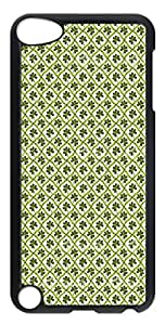 iPod Touch 5 Cases & Covers - Green Vintage Custom PC Soft Case Cover Protector for iPod Touch 5 - Transparent