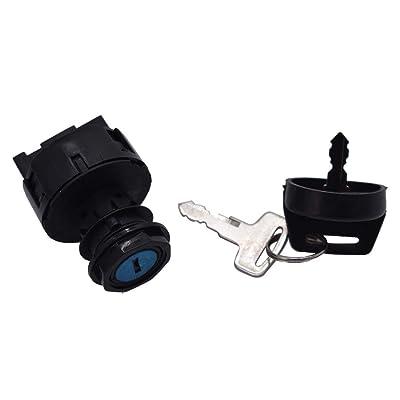 WFLNHB Ignition Switch with Key Fit for Polaris Sportsman 300 400 450 500 550 570 600 700 800 850 / Trail Blazer Boss 330 RZR: Automotive