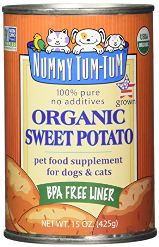 Nummy Tum Tum Pure Sweet Potato Can Dog Food Case