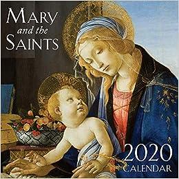 Best Catholic Books 2020 2020 Mary & the Saints Catholic Wall Calendar: TAN Books