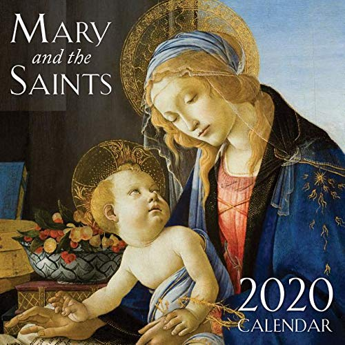 2020 Mary & the Saints Catholic Wall Calendar ()