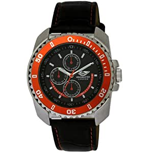 WINGMASTER LONDON Analogue Watch with Black Face (w1)