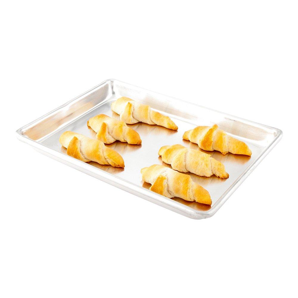 18 x 26-1ct Box Restaurantware Professional Grade Aluminum Cookie Sheet Full Size Aluminum Baking Sheet Met Lux