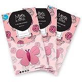 MARTA LA FARFALLA PINK ROSES CONFEZIONI 3PZ - Profumatore / Deodorante per auto e ambienti.