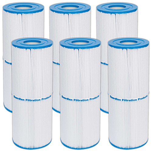 6) New Guardian Spa filters Replace: Unicel C-4950 Prb50-in Jacuzzi Cartridge ()
