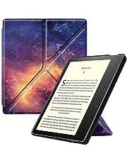 Fintie Hoes Compatibel met Kindle Oasis 10e Generatie (2019 model) en 9e Generatie (2017 model) - [Origami Serie ] Beschermhoes met Standfunctie Automatische Slaap/Wake-Functie, (Z-Galaxy)