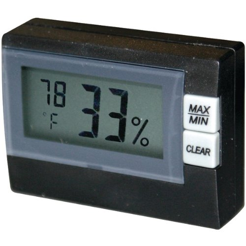 - P3 INTERNATIONAL(R)) Mini Hygo-Thermometer Outdoor Supplies