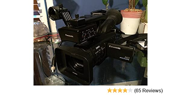 with SDC-26 Case Camcorders and Pro Video Cameras Panasonic V700M Camcorder External Microphone XM-AD2 Dual Channel XLR-Mini Audio Adapter for DSLR/'s