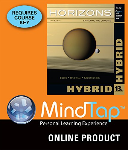 MindTap Astronomy for Seeds/Backman/Mont - Horizon Hybrid Shopping Results