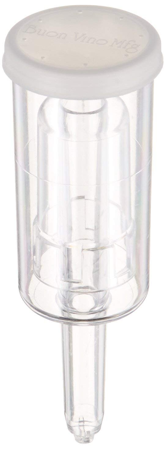 Home Brewing Supplies 48-9AJX-W965 Econolock-6pk Airlock Clear Home Brew Ohio