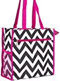 J Garden Chevron Tote Bag