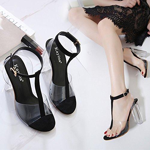 Fibbia Incastro Marea Elegante Di sandali Alta A Scarpe La SUHANG Tacco 8PxF4vqF