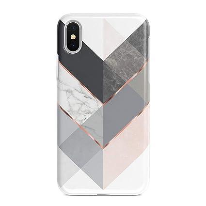 Amazon.com: Obbii - Carcasa rígida para iPhone X (5,8 ...