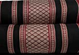 "NRG Thai Massage Bolsters, 23"" L x 5-1/2"" D, Set of 3 - Thai Bolster Makes Great Addition to Your Mattress Cushion Pillow for Massage, Yoga and Meditation"