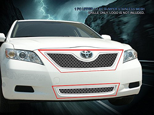(Fedar Dual Weave Mesh Grille for 2007-2009 Toyota Camry)