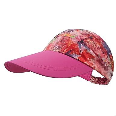 Gorras Damas Verano Protección del Ocio Imprimir Moda Deporte ...