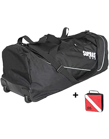 a39cbf781f03 Sopras Sub New Travel Rolling Gear Bag Scuba Diving Luggage Perfect to Dive  Gear With Durable