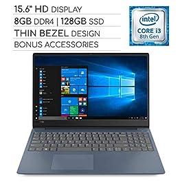 Lenovo IdeaPad 330s 2019 Laptop Notebook 15.6 Thin Bezel HD Computer, Intel Core i3-8130U 2.2GHz, 8GB DDR4, 128GB SSD…