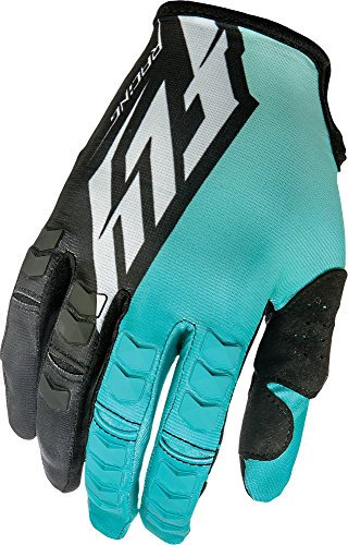 Fly Racing Unisex-Adult Kinetic Gloves (Teal/Black, Size 9)