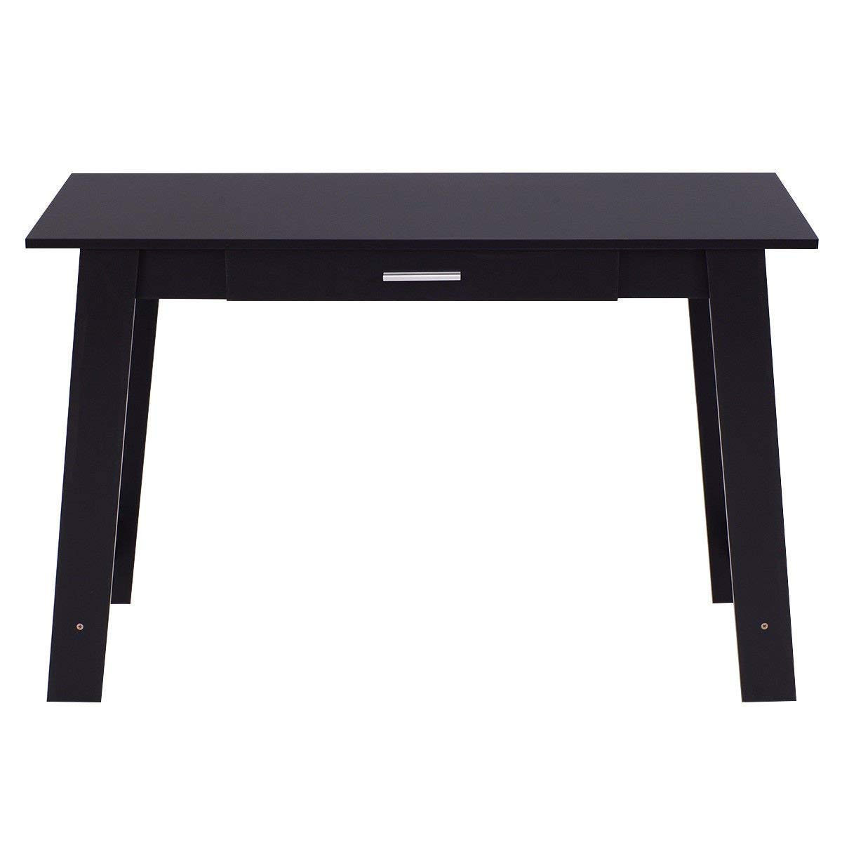 TANGKULA Computer Desk PC Laptop Table Home Office Modern Simple Study Work Station Writing Table W/Drawer
