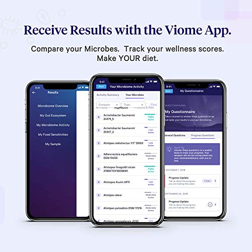 Viome at-Home Gut Microbiome Test | Science Based Personalized Recommendations for Food, Prebiotics & Probiotics | Weight Loss | Improve Digestion | Enhance Sleep | Clear Skin | Boost Mental Focus by Viome (Image #4)