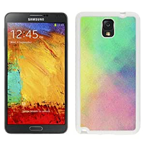 Fashionable And Unique Designed Cover Case For Samsung Galaxy Note 3 N900A N900V N900P N900T With Colorful Grunge Texture_White Phone Case