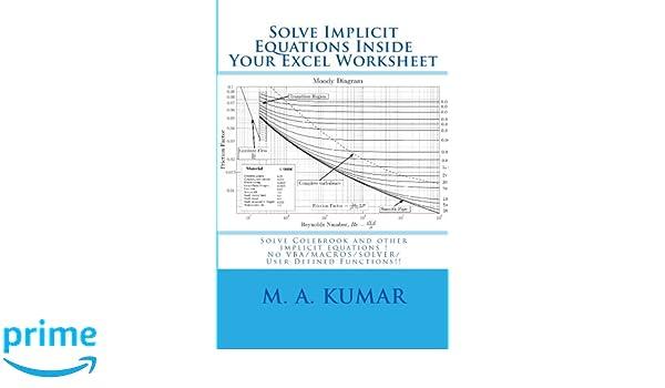 Solve Implicit Equations Inside Your Excel Worksheet: Solve ...