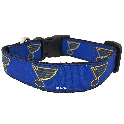 NHL St. Louis Blues Dog Collar, Large, Royal