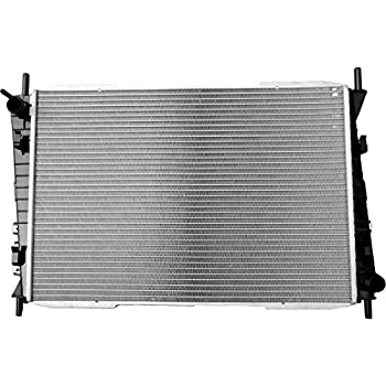 SCITOO New 2622 Aluminum 1 Row Radiator fits for Jaguar X-Type V6 3.0L 2.5L