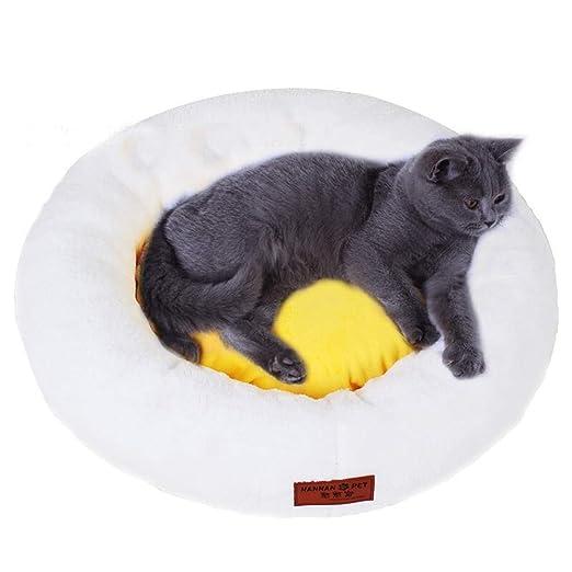Linda Cama de Gato con Cubierta extraíble Forma de Huevo ...