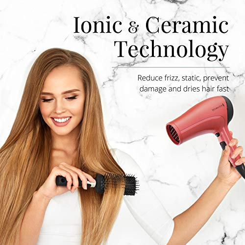 Remington Ceramic Hair Dryer with Ionic Technology, D3015E