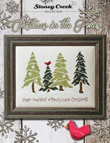 Christmas in The Pines Cross Stitch Chart Leaflet 394