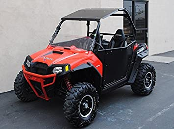 Amazon Com 2008 2014 Polaris Rzr 800 Black Aluminum Roof Also Fits 2011 14 Xp900 2012 2018 Rzr 570 Automotive