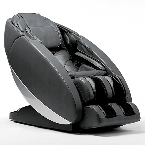 Human Touch Novo XT2 3D S and L Track Massage Chair Zero-Gravity Space Saver Recliner with Heat plus In-Home Delivery and Setup - Gray