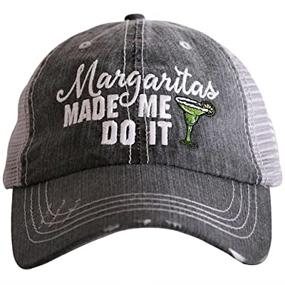 Margaritas Made Me Do It Trucker Hats