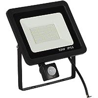 Baosity 50W Led Motion Sensor Flood Lights Outdoor, Human Body Induction Lamp, Intelligent Light, 220V, Super Bright Waterproof Security Floodlight