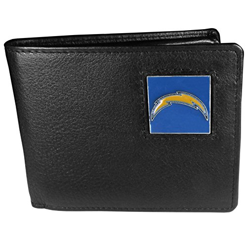 (NFL San Diego Chargers Leather Bi-fold Wallet)