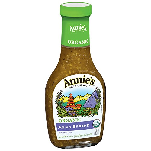 Annie's Organic Asian Sesame Dressing 8 fl oz Bottle ()