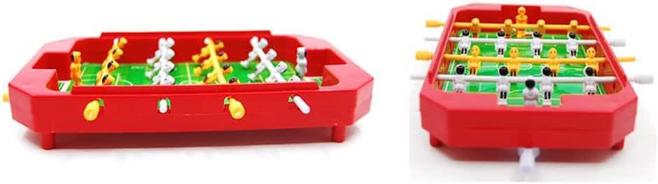 Tuliptown Mini portátil/Juego de fútbol, Juego de fútbol Juego de fútbol de Mesa con Dos Bolas y Score Keeper para Adultos y niños para el hogar diversión (Color al Azar): Amazon.es: Deportes