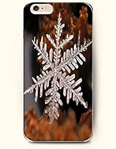 OOFIT Diy For Iphone 6 Case Cover case - A Crystal Clear Snowflake