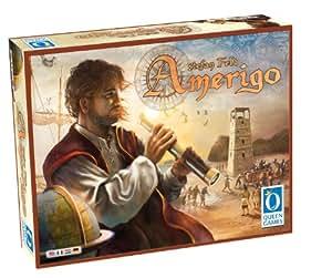 Queen Games Juego de estrategia, Amerigo - Stefam Feld, 2 a 4 jugadores (61141) (versión en inglés)