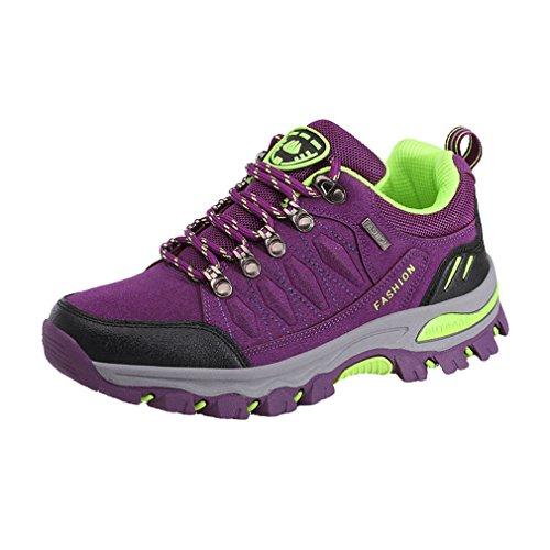 Suben Impermeables 7 38 Los Unisex Campo De Zapatos Colores Zapatos Suben Adultos 44 Que Púrpura Asiáticos a Antideslizantes Que Través AwpO6Pq