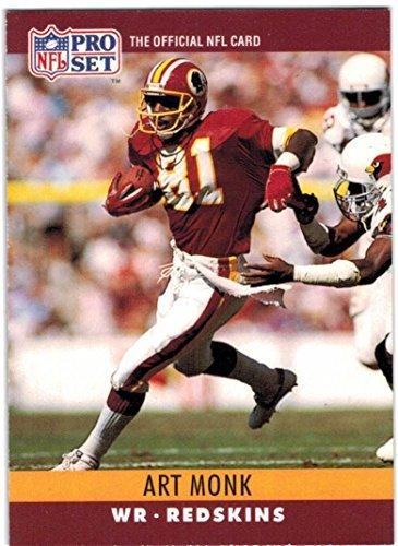 e6dd536a3a2 Amazon.com  1990 Pro Set Washington Redskins Team Set with Art Monk -  Darrell Green - Joe Gibbs - 32 Cards  Collectibles   Fine Art