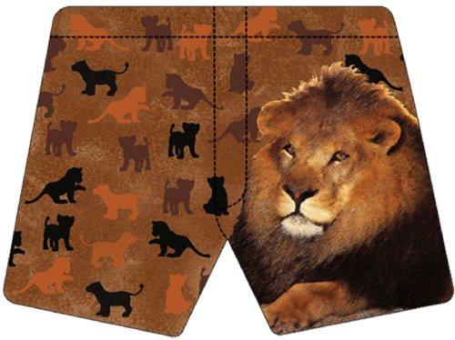 Family Boxer (Unisex Lion Family Boxer Shorts - Magic Boxers - Medium)